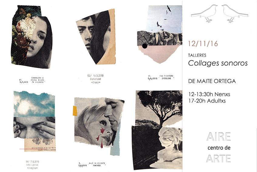 Collages Sonoros. Obradoiro de Collage