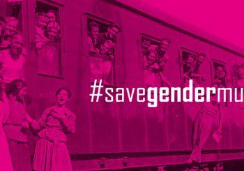 Imaxe da campaña #savegendermuseum
