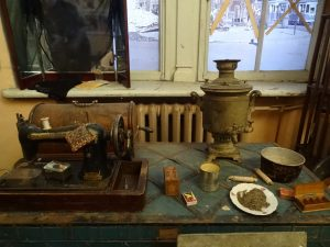 Algúns dos obxectos que se poden atopar no Gender Museum de Ucraína
